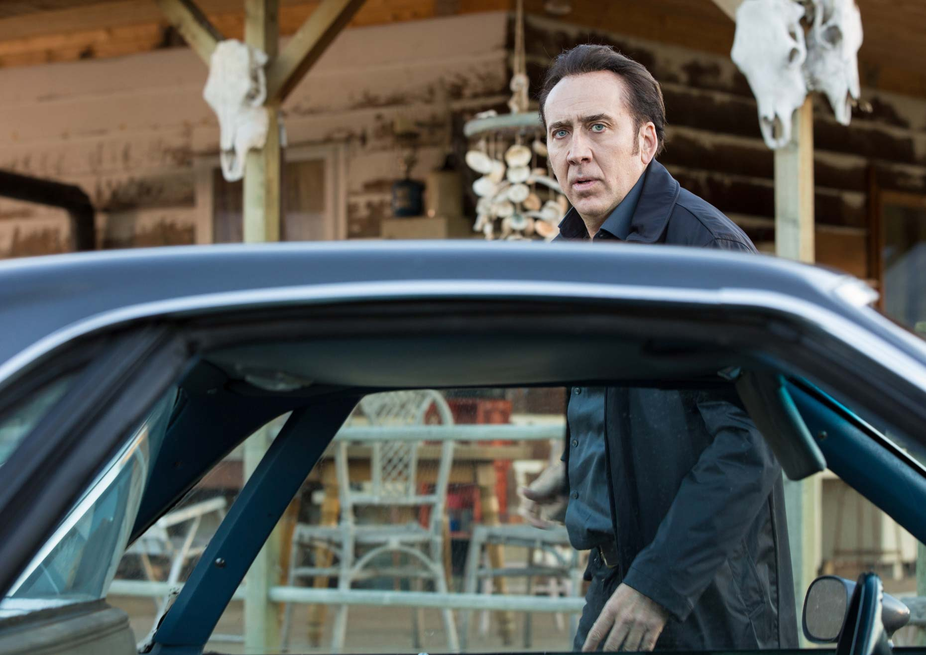 Nicolas Cage stars as Noah Cross in film: the Humanity Bureau