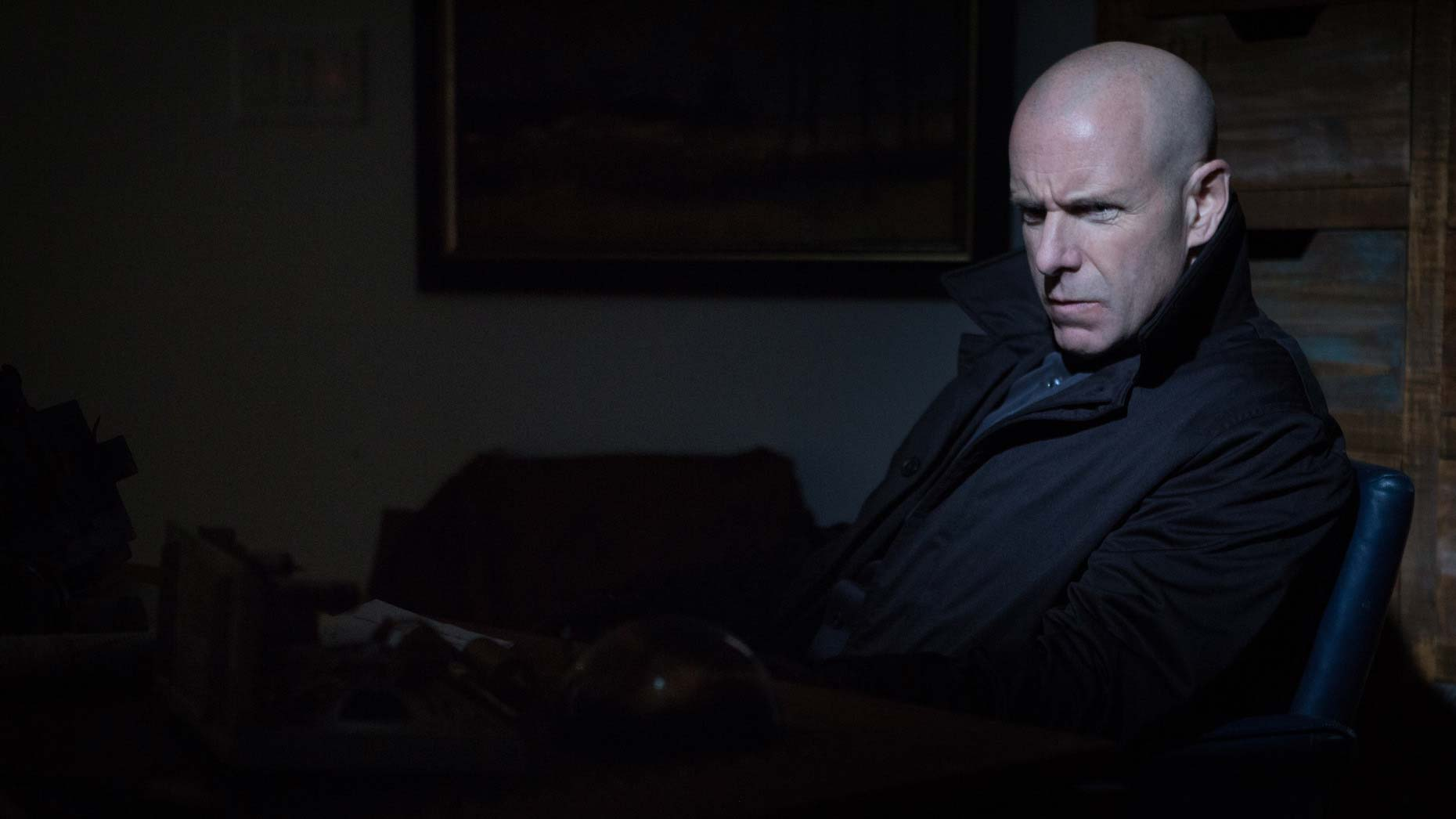 Hugh Dillon, Canadian actor and lead singer for the Headstones, stars in film: the Humanity Bureau