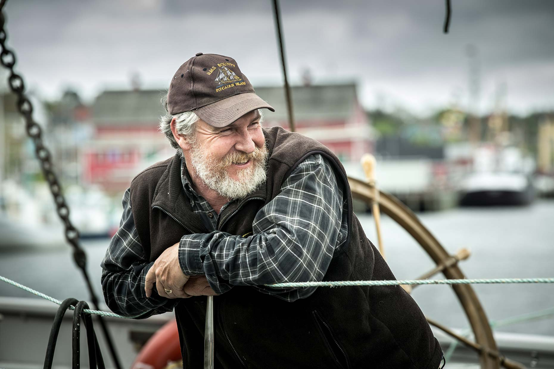Bluenose II Captain